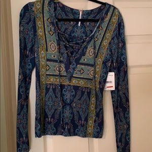 Free people shirt new with tags